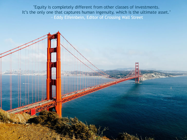 Equity is completely different from other classes of Investments
